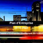 Plan d'entreprise SNCB 2018/2022 Direction par Direction