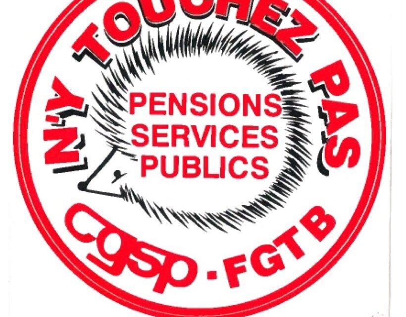 Communiqué de presse «Dossier Pensions»